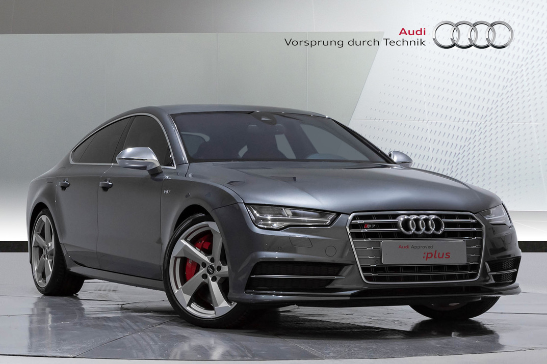Audi S7 Sportback. 4.0 TWIN TURBO V8 - 2018