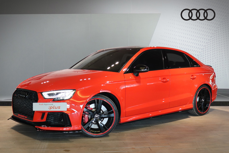 Audi RS3 Saloon quattro 2.5 (394 hp) - 2018