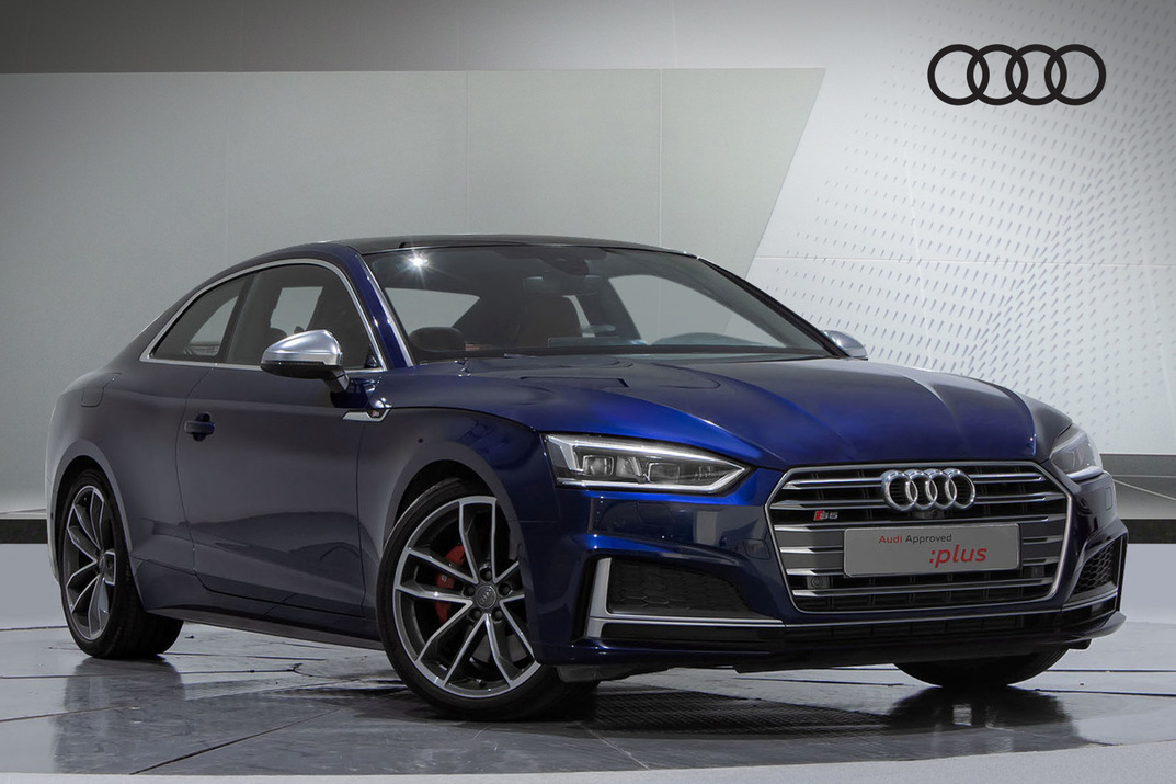 Audi S5 Coupe 355HP TURBOCHARGED V6 - 2018