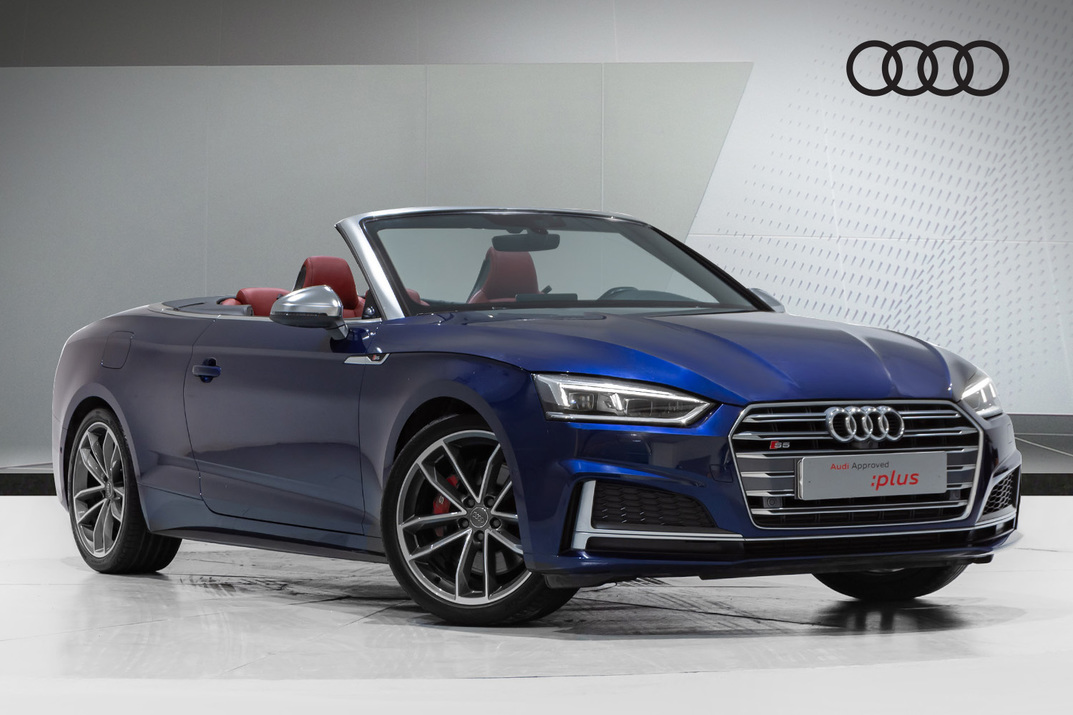Audi S5 Cabrio  355HP TURBOCHARGED V6 - 2018